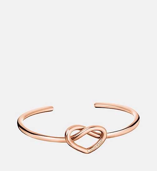 CALVINKLEIN Bangle - Calvin Klein Charming - SST / PINK GOLD - CALVIN KLEIN WATCHES & JEWELLERY - main image