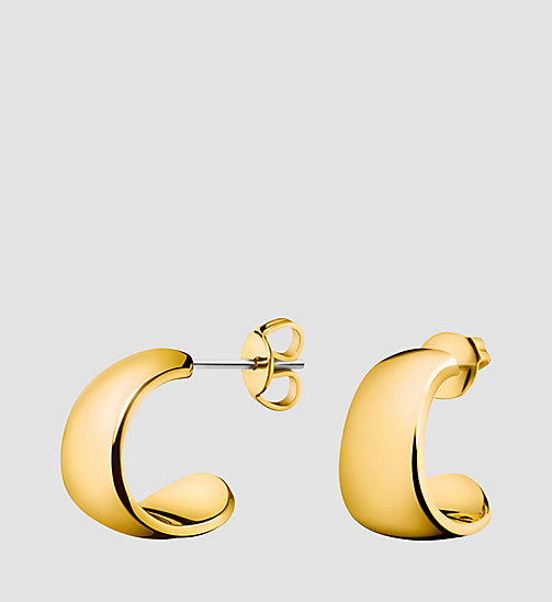 CALVINKLEIN Earrings - Calvin Klein Informal - PVD YELLOW - CALVIN KLEIN WATCHES & JEWELLERY - main image