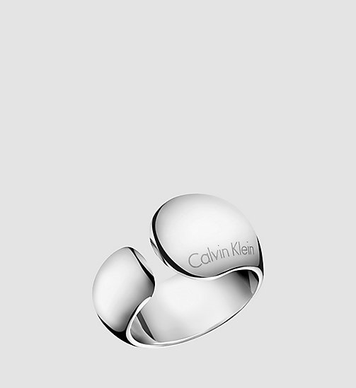 CALVINKLEIN Ring - Calvin Klein Informal - SST - CALVIN KLEIN WATCHES & JEWELLERY - main image