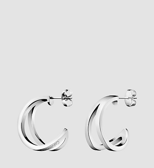 CALVINKLEIN Earrings - Calvin Klein Outline - SST - CALVIN KLEIN WATCHES & JEWELLERY - main image