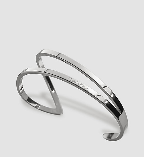 CALVINKLEIN Open Bangle - Calvin Klein Outline - SST - CALVIN KLEIN WATCHES & JEWELLERY - main image