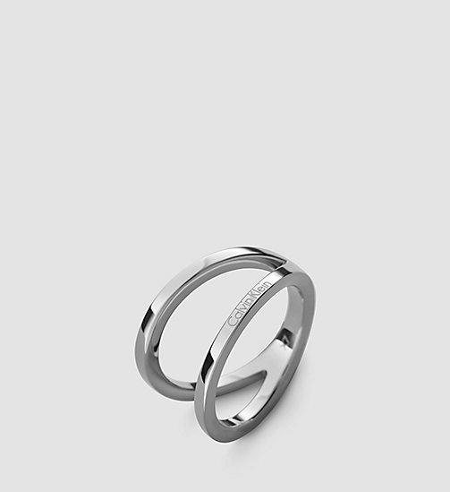 CALVINKLEIN Ring - Calvin Klein Outline - SST - CALVIN KLEIN WATCHES & JEWELLERY - main image