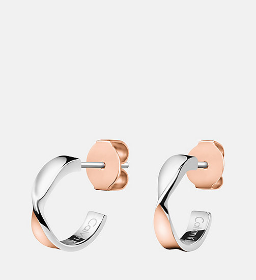 CALVINKLEIN Earrings - Calvin Klein Supple - SST/PINK - CALVIN KLEIN WATCHES & JEWELLERY - main image