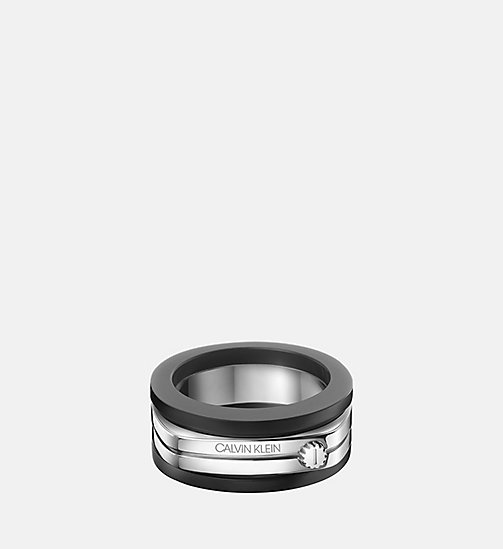 CALVINKLEIN Ring - Calvin Klein Mighty - SILVER - CALVIN KLEIN FOR HIM - main image