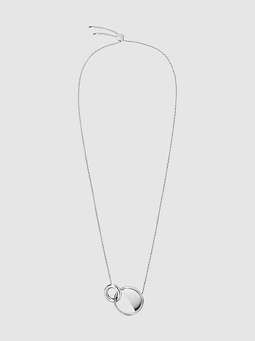 CALVINKLEIN Necklace - Calvin Klein Locked - SILVER - CALVIN KLEIN NECKLACES - main image