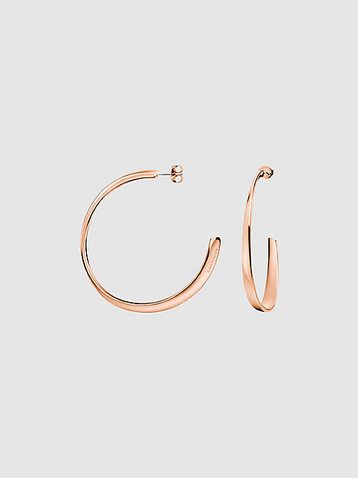 CALVIN KLEIN Earrings - Calvin Klein Groovy - PINK GOLD - CALVIN KLEIN GIFTS - main image