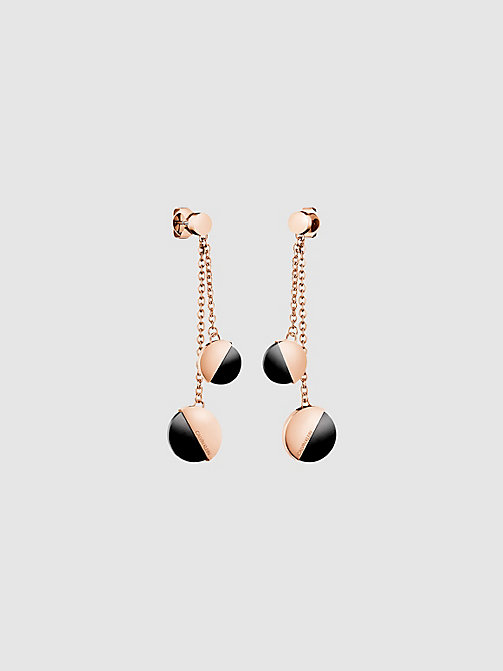 CALVIN KLEIN Earrings - Calvin Klein Spicy - PINK GOLD - CALVIN KLEIN WOMEN - main image