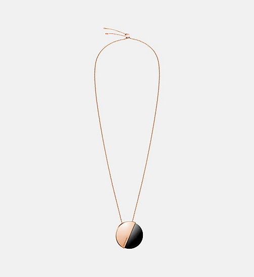 CALVIN KLEIN Necklace - Calvin Klein Spicy - PINK GOLD - CALVIN KLEIN WOMEN - main image