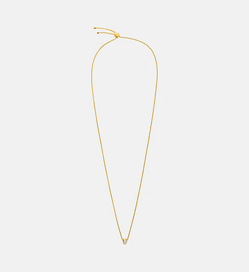 CALVIN KLEIN Necklace - Calvin Klein Brilliant - GOLD - CALVIN KLEIN WOMEN - main image