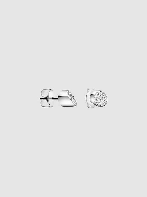 CALVIN KLEIN Earrings - Calvin Klein Brilliant - SILVER - CALVIN KLEIN FOR HER - main image