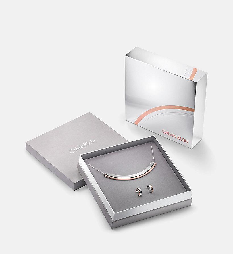 Earrings Choker Gift Set - Calvin Klein Loud Calvin Klein 8bpcv