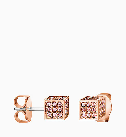 CALVIN KLEIN Earrings - Calvin Klein Rocking - PINK - CALVIN KLEIN VALENTINES - detail image 1