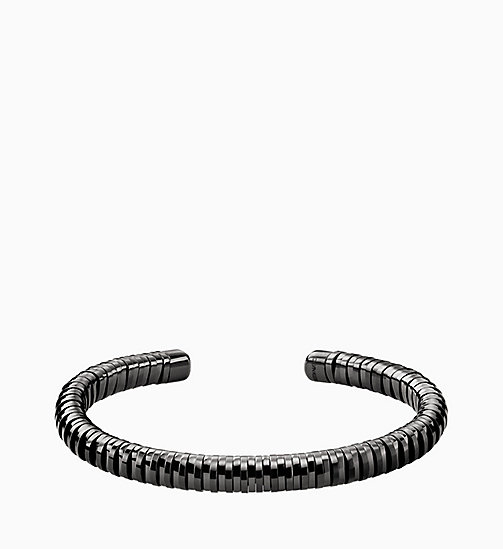 CALVINKLEIN Open Bangle - Calvin Klein Spring - GREY - CALVIN KLEIN JEWELLERY - main image