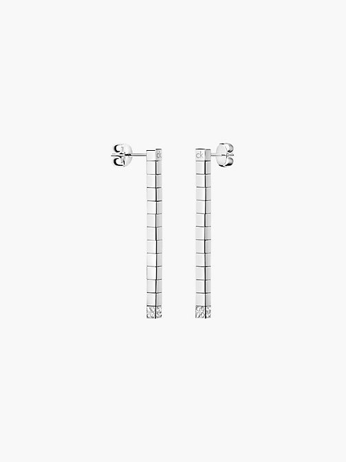 CALVINKLEIN Earrings - Calvin Klein Tune - SILVER - CALVIN KLEIN JEWELLERY - main image