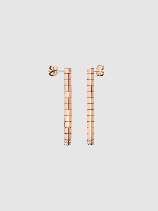 CALVIN KLEIN Earrings - Calvin Klein Tune - PINK GOLD - CALVIN KLEIN ALL GIFTS - main image
