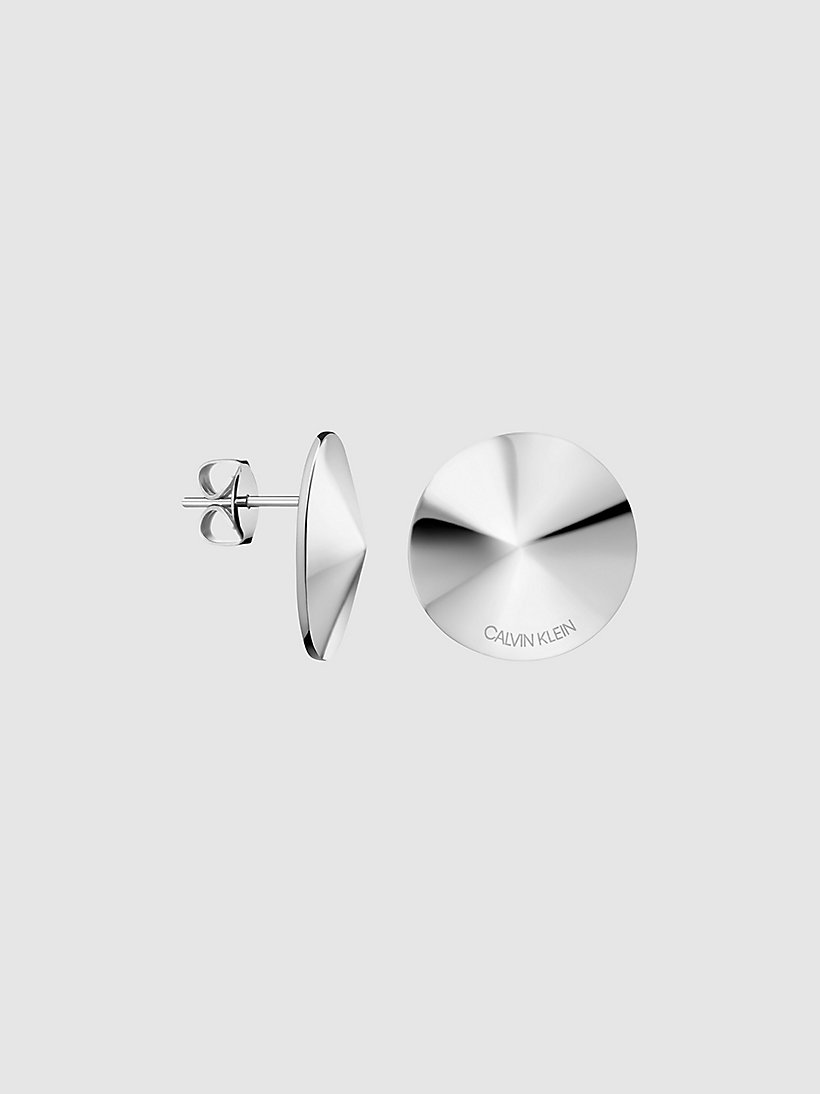 huge discount top brands 100% high quality Stud Earrings - Calvin Klein Spinner CALVIN KLEIN ...
