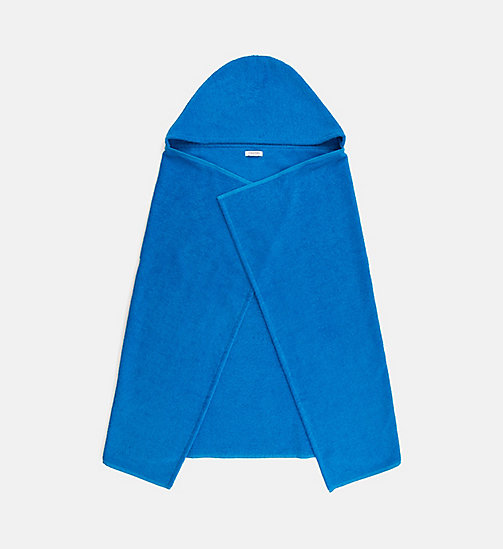 CALVINKLEIN Kids Hooded Towel - Intense Power - 18-4245-ELECTRIC BLUE LEMONADE - CALVIN KLEIN Girls - main image