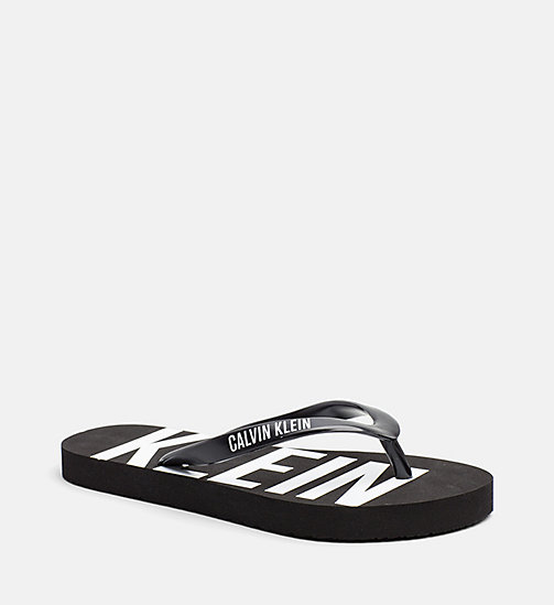 CALVINKLEIN Kids Slippers - Intense Power - PVH BLACK - CALVIN KLEIN Girls - main image