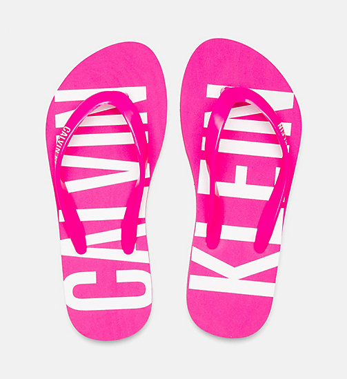 CALVINKLEIN Kids Slippers - Intense Power - PINK GLO - CALVIN KLEIN Girls - detail image 1