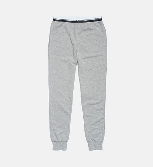 CALVINKLEIN Kids Joggers - CK Graphic - GREY HEATHER - CALVIN KLEIN GIRLS - main image