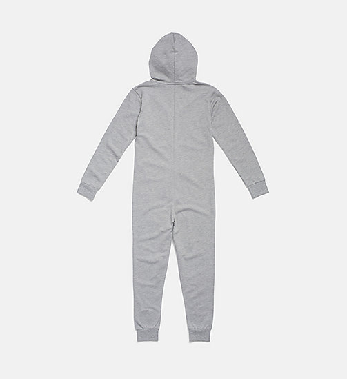 CALVIN KLEIN Kids Onesie - Modern Cotton - GREY HEATHER - CALVIN KLEIN MÄDCHEN - main image 1