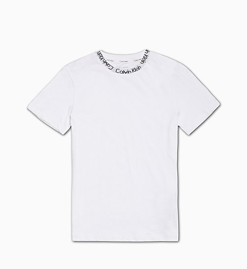 CALVIN KLEIN Kids T-shirt - Modern Cotton - PVH WHITE - CALVIN KLEIN GIRLS - main image