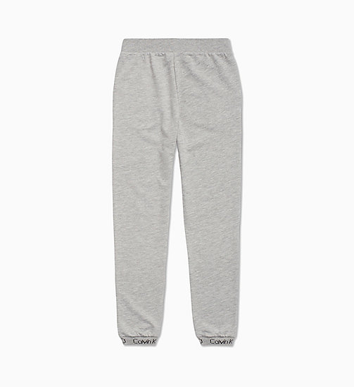 CALVIN KLEIN Kids Joggers - Modern Cotton - GREY HEATHER - CALVIN KLEIN GIRLS - detail image 1