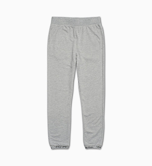 CALVIN KLEIN Kids Joggers - Modern Cotton - GREY HEATHER - CALVIN KLEIN GIRLS - main image