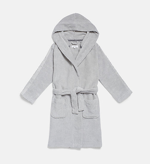 CALVIN KLEIN Kids Bathrobe - Modern Cotton - HIGH-RISE - CALVIN KLEIN GIRLS - main image