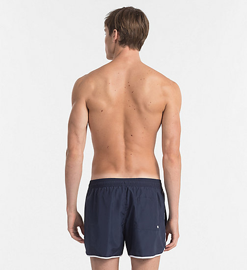 CALVINKLEIN Swim Shorts - CK NYC - BLUE SHADOW - CALVIN KLEIN SWIMWEAR - detail image 1