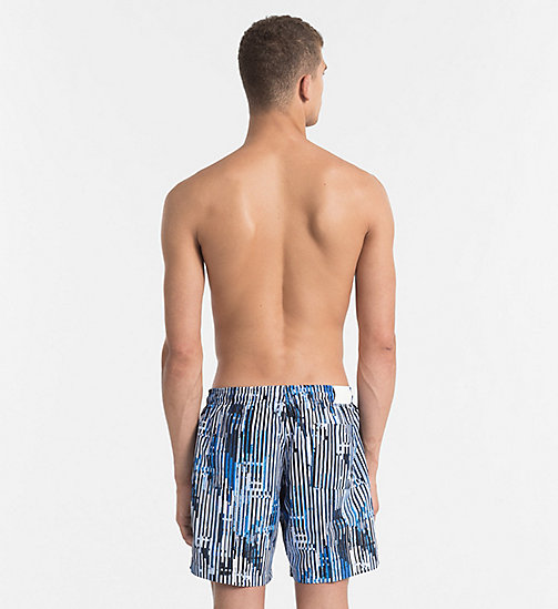CALVINKLEIN Swim Shorts - CK NYC - CITY BLUE - CALVIN KLEIN SWIM SHORTS - detail image 1
