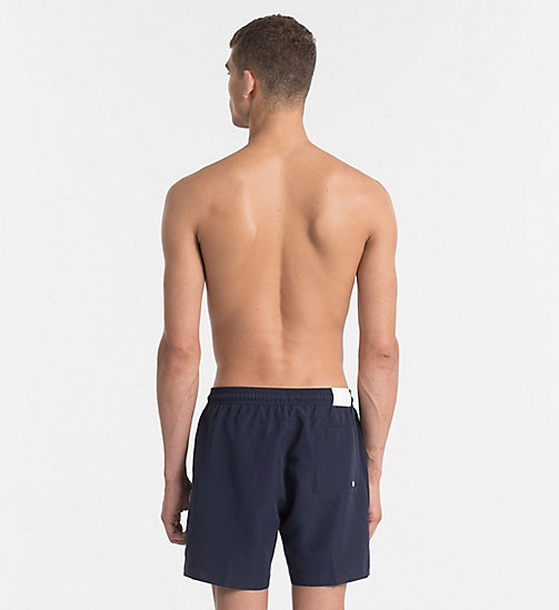 CALVINKLEIN Swim Shorts - CK NYC - BLUE SHADOW - CALVIN KLEIN SWIM SHORTS - detail image 1