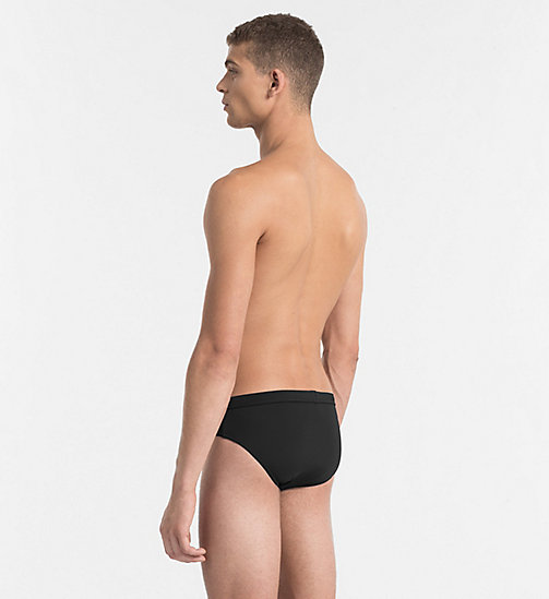 CALVINKLEIN Swim Briefs - Core Solids - BLACK - CALVIN KLEIN SWIM BRIEFS - detail image 1