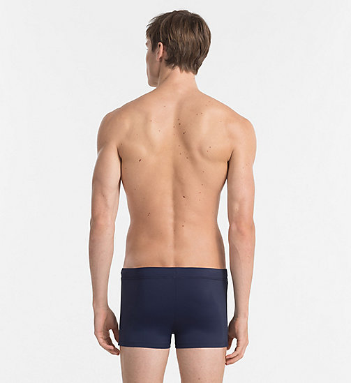 CALVINKLEIN Swim Trunks - Core Logo Tape - BLUE SHADOW - CALVIN KLEIN SWIM TRUNKS - detail image 1
