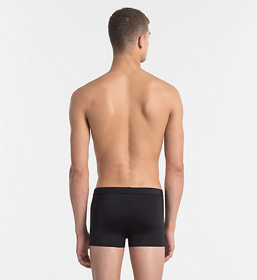CALVINKLEIN Swim Trunks - Core Solids - BLACK - CALVIN KLEIN SWIM TRUNKS - detail image 1