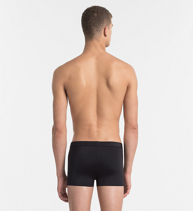 CALVINKLEIN Swim Trunks - Core Solids - SNORKEL BLUE - CALVIN KLEIN UNDERWEAR - detail image 1