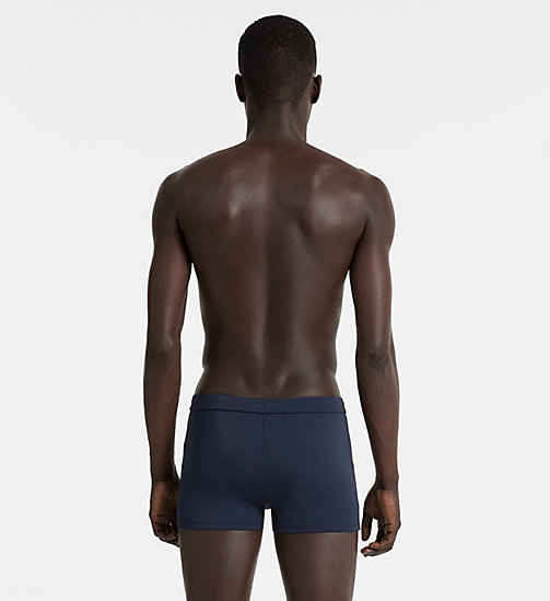 CALVINKLEIN Swim Trunks - Core Solids - BLUE SHADOW - CALVIN KLEIN SWIM TRUNKS - detail image 1