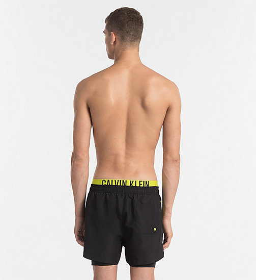 CALVINKLEIN Swim Shorts - Intense Power - BLACK - CALVIN KLEIN SWIM SHORTS - detail image 1