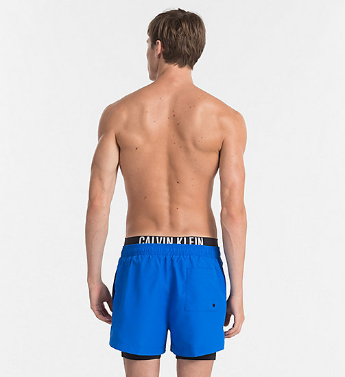 CALVINKLEIN Short de bain - Intense Power - 18-4245-ELECTRIC BLUE LEMONADE - CALVIN KLEIN SHORTS DE BAIN - image détaillée 1