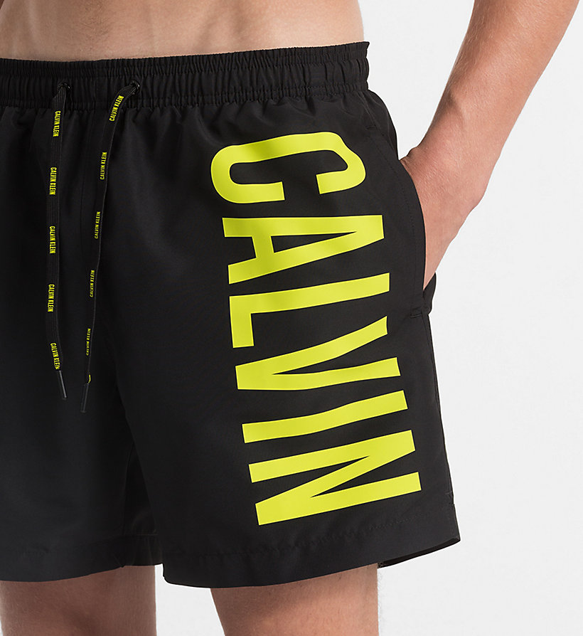 CALVINKLEIN Swim Shorts - Intense Power - 18-4245-ELECTRIC BLUE LEMONADE - CALVIN KLEIN UNDERWEAR - detail image 2