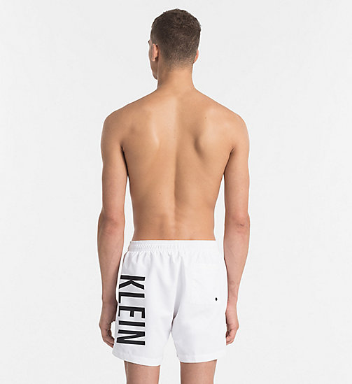 CALVINKLEIN Swim Shorts - Intense Power - WHITE - CALVIN KLEIN UNDERWEAR - detail image 1