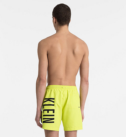 CALVINKLEIN Swim Shorts - Intense Power - SULPHUR SPRING - CALVIN KLEIN SWIM SHORTS - detail image 1
