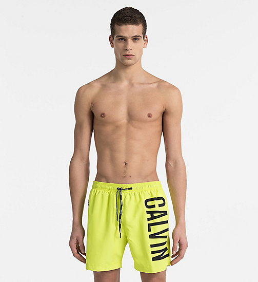CALVINKLEIN Swim Shorts - Intense Power - SULPHUR SPRING - CALVIN KLEIN SWIM SHORTS - main image