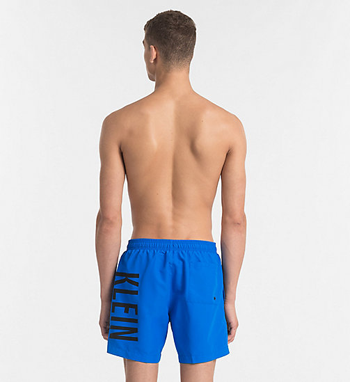 CALVINKLEIN Swim Shorts - Intense Power - 18-4245-ELECTRIC BLUE LEMONADE - CALVIN KLEIN SWIM SHORTS - detail image 1