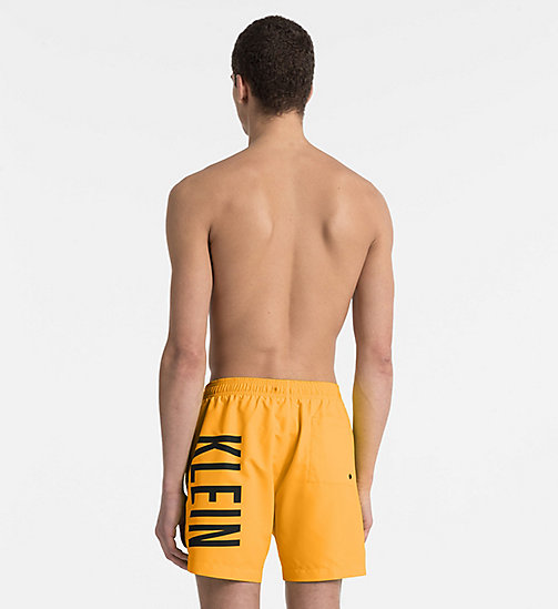 CALVINKLEIN Swim Shorts - Intense Power - SUN ORANGE -  SWIM SHORTS - detail image 1