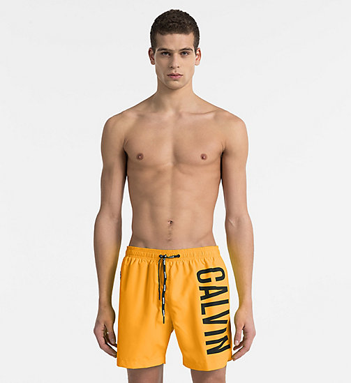 CALVINKLEIN Swim Shorts - Intense Power - SUN ORANGE - CALVIN KLEIN SWIM SHORTS - main image
