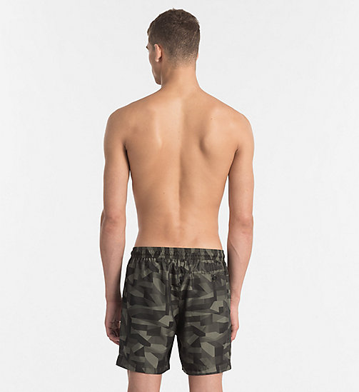 CALVINKLEIN Swim Shorts - Intense Power - OLIVE NIGHT - CALVIN KLEIN SWIMWEAR - detail image 1