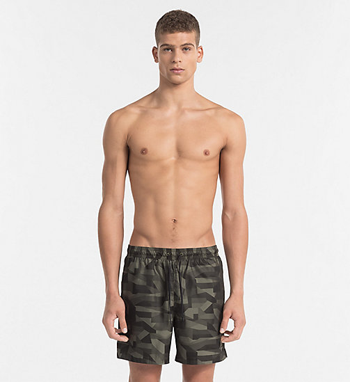 CALVINKLEIN Swim Shorts - Intense Power - OLIVE NIGHT - CALVIN KLEIN NEW IN - main image