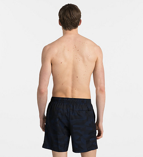 CALVINKLEIN Swim Shorts - Intense Power - BLUE SHADOW - CALVIN KLEIN SWIMWEAR - detail image 1