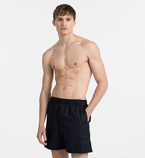 CALVINKLEIN Swim Shorts - Intense Power - BLUE SHADOW - CALVIN KLEIN SWIMWEAR - main image
